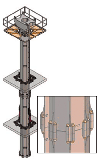 Schwing octogonal masts diagram
